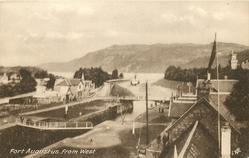 FORT AUGUSTUS FROM WEST