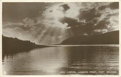LOCH LINNHE, LOOKING WEST