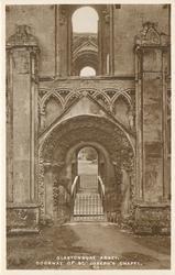 DOORWAY OF ST. JOSEPH'S CHAPEL