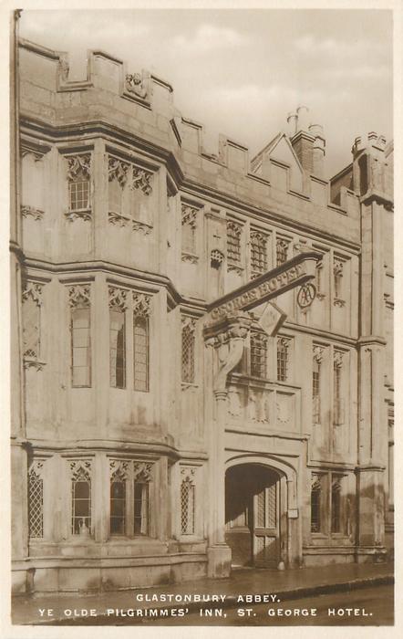 YE OLDE PILGRIMMES' INN, ST. GEORGE HOTEL