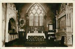 GODSHILL CHURCH. THE HIGH ALTAR