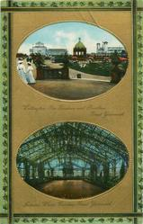 2 insets WELLINGTON PIER GARDENS AND PAVILION and INTERIOR WINTER GARDENS