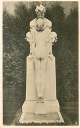 NYMPH AND FAUN front view