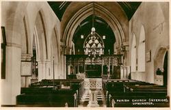 PARISH CHURCH (INTERIOR)