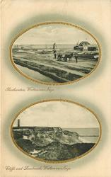 2 insets BACKWATERS, WALTON-ON-NAZE and CLIFFS AND LANDMARK, WALTON-ON-NAZE
