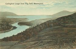 CARLINGFORD LOUGH FROM FLAG STAFF