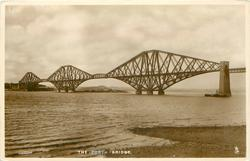 THE FORTH BRIDGE  much information on back