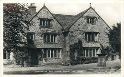 HARTINGTON HALL YOUTH HOSTEL. THE FRONT