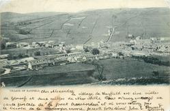 VILLAGE OF HAYFIELD
