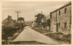 THE VILLAGE straight road