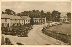 THE VILLAGE forked road