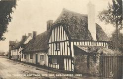 OLD TIMBERED COTTAGE, DATE 1583