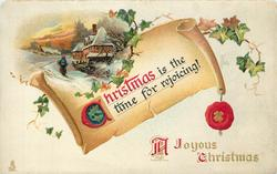 A JOYOUS CHRISTMAS  CHRISTMAS IS THE TIME FOR REJOICING!