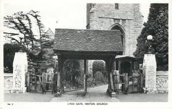 LYCH GATE, HESTON CHURCH