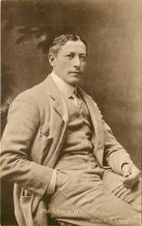 MR. LEWIS WALLER left hand holding cigarette in holder, right hand in pocket