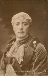 MR. LEWIS WALLER head & shoulder study, facing slightly left, looking front