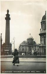 WILBERFORCE MONUMENT AND CITY HALL
