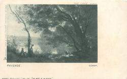 THE LAKE  PAYSAGE