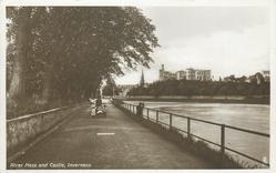 RIVER NESS AND CASTLE