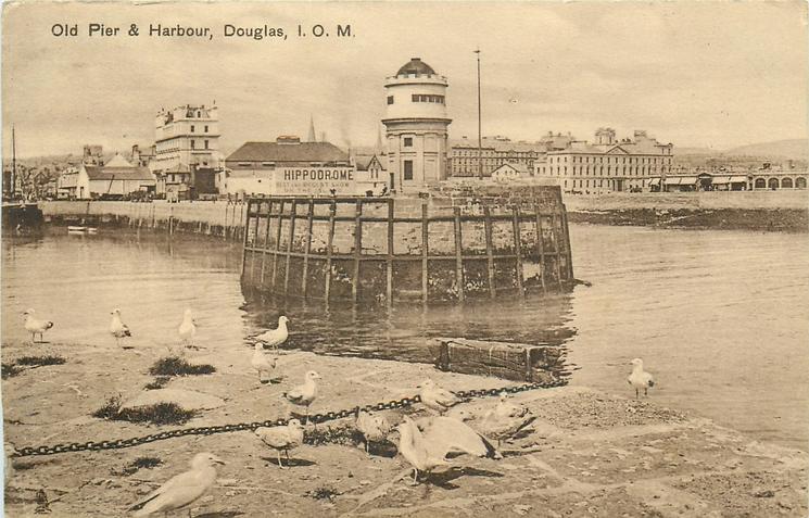 OLD PIER & HARBOUR, DOUGLAS, I.O.M.