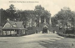 BREADALBANE READING ROOM AND ENTRANCE GATES