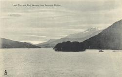 LOCH TAY AND BEN LAWERS FROM KENMORE BRIDGE