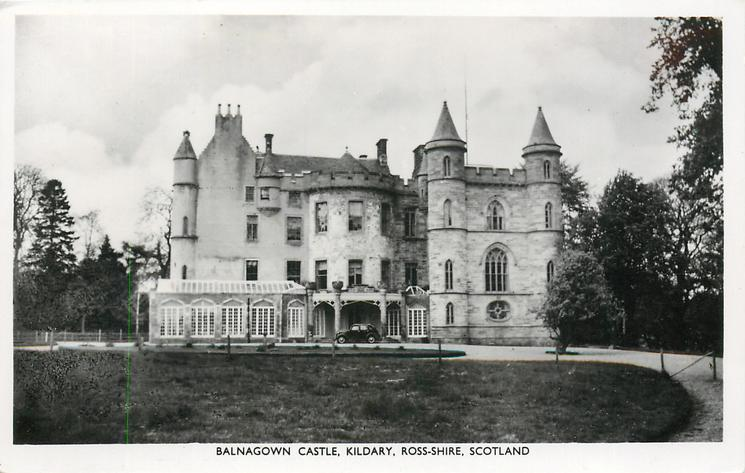 BALNAGOWN CASTLE, KILDARY, ROSS-SHIRE, SCOTLAND - TuckDB ...