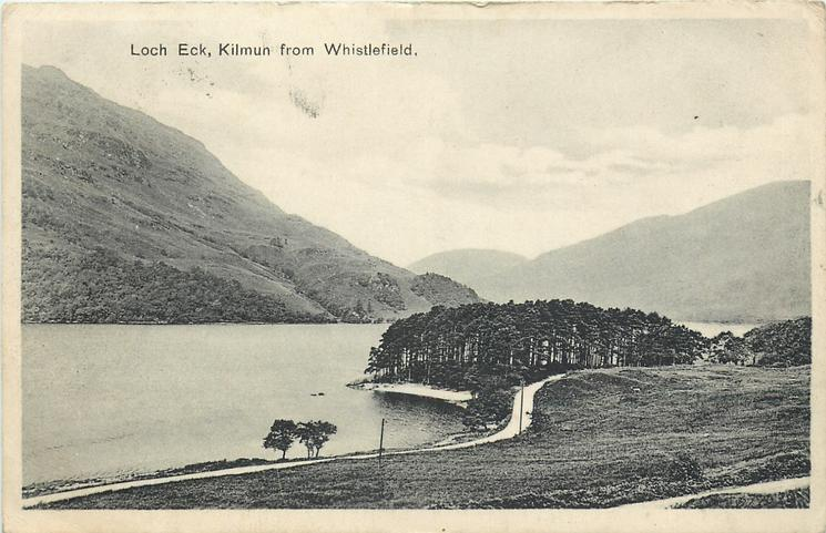 LOCH ECK, KILMUN FROM WHISTLEFIELD
