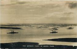 THE GERMAN FLEET IN SCAPA FLOW