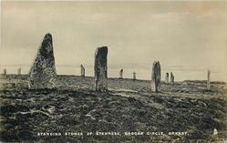 STANDING STONES OF STENNES, BROGAR CIRCLE, ORKNEY
