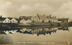 THE AYRE, KIRKWALL, AT MIDNIGHT IN JUNE