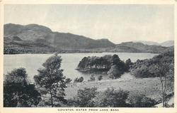 CONISTON WATER FROM LAKE BANK