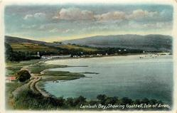 LAMLASH BAY, SHOWING GOAT FELL