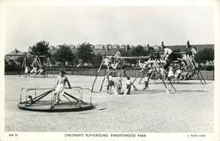 CHILDREN'S PLAYGROUND, KNIGHTSWOOD PARK