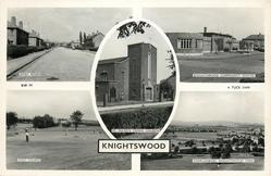 5 insets DYKE ROAD/KNIGHTSWOOD COMMUNITY CENTRE/ST. DAVID'S PARISH CHURCH/GOLF COURSE/OVERLOOKING KNIGHTSWOOD PARK