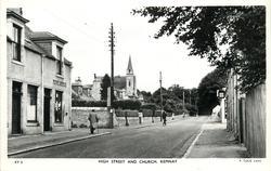 HIGH STREET AND CHURCH
