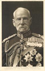 FIELD MARSHAL EARL ROBERTS COMANDER OF THE OVERSEAS FORCES, 1914