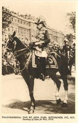 FIELD MARSHAL, THE RT HON.EARL KITCHENER, P.C.K.P.SECRETARY OF STATE FOR WAR, 1914