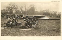 ROYAL GARRISON ARTILLERY 60 POUNDER GUN