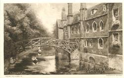 QUEEN'S COLLEGE & BRIDGE