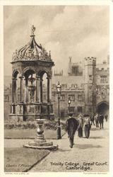 TRINITY COLLEGE, GREAT COURT
