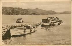 THE FERRY, KYLEAKIN, SKYE (SHOWING MAINLAND)