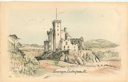 DUNVEGAN CASTLE FROM N