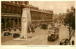 THE CENOTAPH AND WHITEHALL