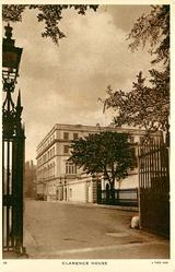 CLARENCE HOUSE with or w/o HOME OF THE DUKE AND DUCHESS OF EDINBURGH