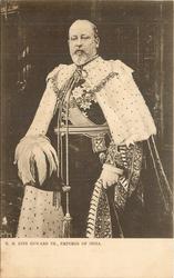 H.M. KING EDWARD VII, EMPEROR OF INDIA