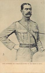 LORD KITCHENER, THE COMMANDER-IN-CHIEF OF THE TROOPS IN INDIA