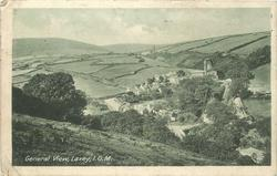 GENERAL VIEW, LAXEY, I.O.M.
