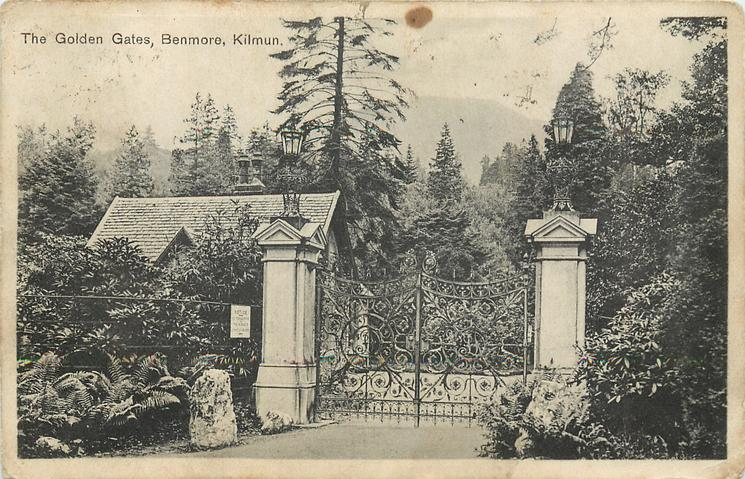 THE GOLDEN GATES, BENMORE