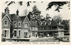 """THE JEWISH HOME FOR THE BLIND, """"ROKEFIELD"""""""